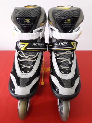 Rollers Action Sport Abec 7 Cromo
