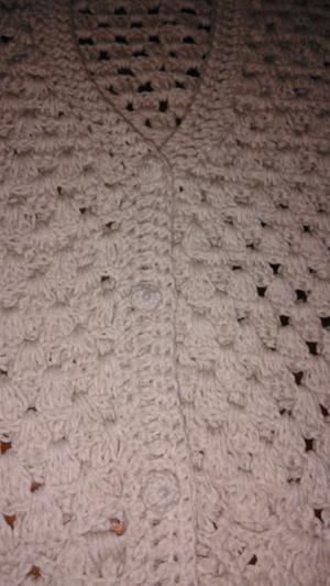 Saco tejido a crochet