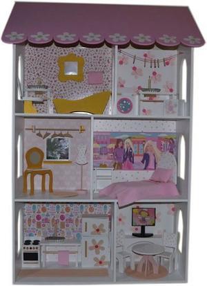 Casa Mansion para muñecas Barbies