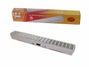 Luz De Emergencia 60 Leds Alto Brillo C/botón Testeo