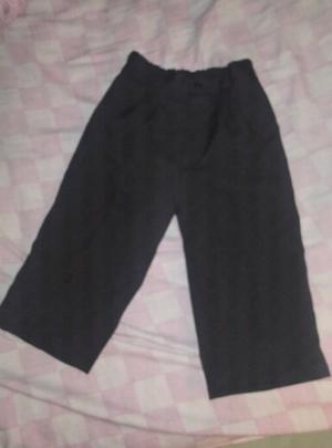 Pantalon negro de vestir talle 2 de bebe