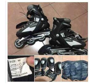 Rollers Action Talle 44 Con Protectores
