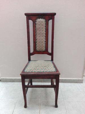 4 sillas antiguas tipo thonet en cedro listas posot class - Sillas estilo ingles ...