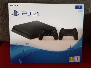 Sony Ps4 Slim 1tb con 2 Controles V2 Nueva!