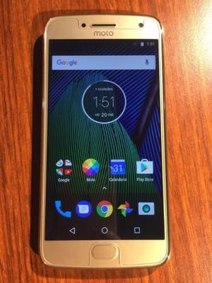 VENDO Moto G5 Plus 32GB Gold LIBRE