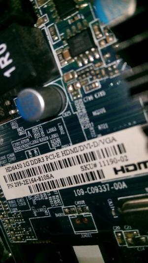 Vendo placa de video HD gb ddr3