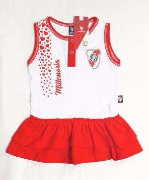 Vestido River Beba Nena Bebe Nuevo  De Licencia Camiseta