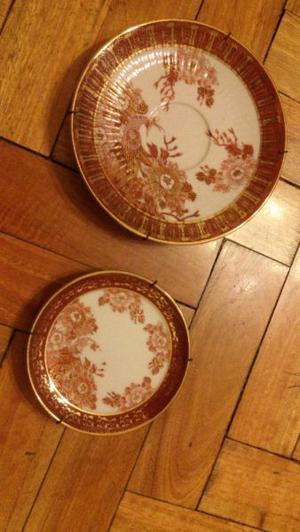 platos decorativos porcelana tsuji original