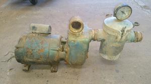 Bomba de agua para filtrado de pileta