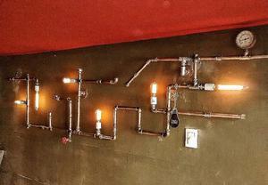 Lamparas colgantes apliques de pared lamparas posot class for Lamparas colgantes led