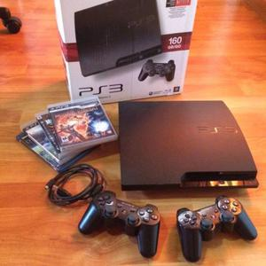 OPORTUNIDAD Play Station 3 en perfecto estado - PS3 con dos