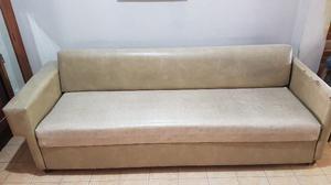 Sofa Cama 1 plaza con carro elastico levadizo