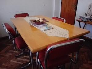 juego de mesa y sillas para comedor