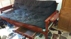 sillón futon de 3 cuerpos