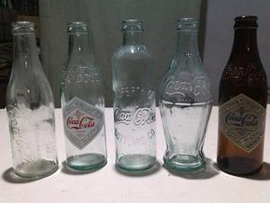 Botellas -coca Cola -coleccion Oferta!!