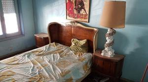 Juego Dormitorio Luis XV completo con Marmol y espejos