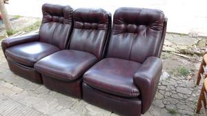 Líquido cómodo sillón de 3 cuerpos