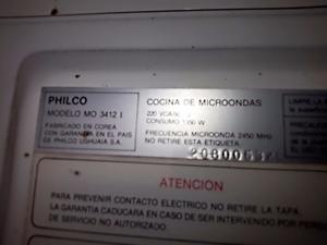 Microondas PHILCO Mo  I