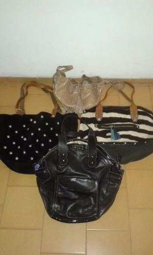Vendo carteras usadas jazmin chebar