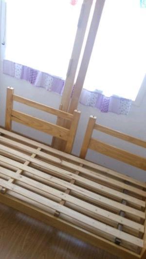 Vendo cucheta madera desmontable
