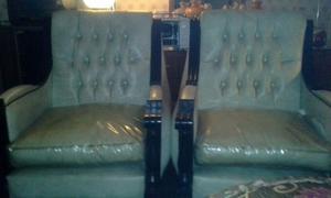 Vendo dos sillones de cuero