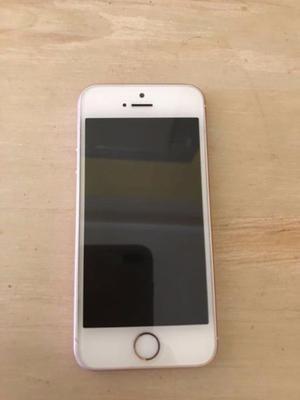 iPhone SE 64gb IGUAL A NUEVO. Recibo tarjetas.