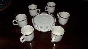 juego de porcelana de café harford