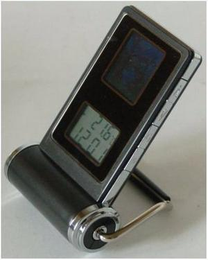 Mini Marco De Fotos Digital Con Reloj Alarma Termómetro