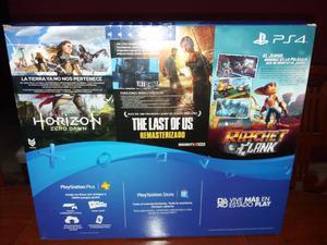 Sony playstation 4 slim 500 gb + 3 juegos!!