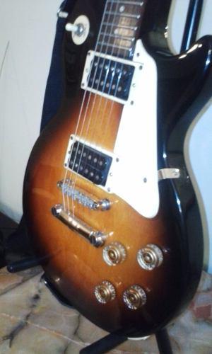 Guitarra Epiphone Lp 100 + Amplificador Nativo 60 Whatts