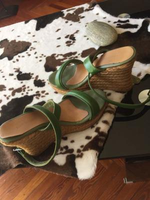 Sandalias taco chino