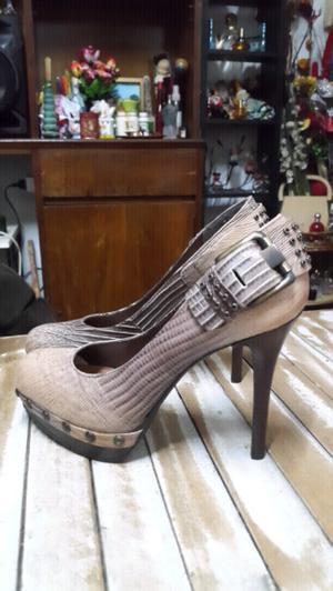 Zapatos Via uno T36
