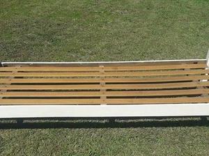Cama de madera 1 plaza