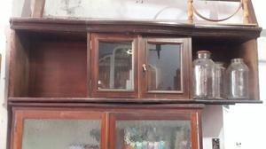 Repisa antigua de madera ideal para cualquier ambiente $