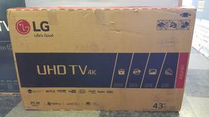 Smart Tv Led Lg 43UHk Uhd Webos 3.5 Ips Netflix