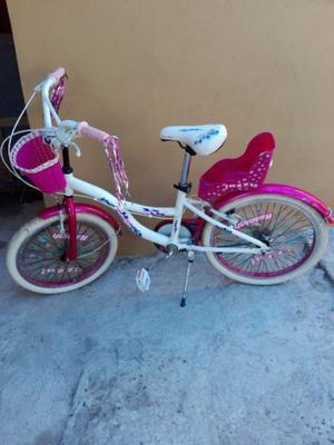 Vendo bicicleta de nena rodado 16