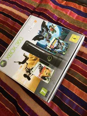 Xbox 360 Élite + Control Inalámbrico + Pack De Juegos