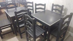 mesas y sillas para bar excelente estado !! $ el juego