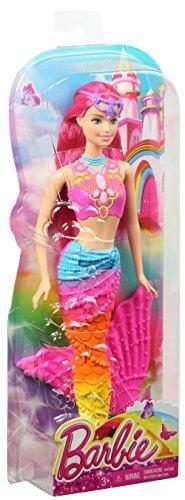 Barbie Muñeca Sirena Reinos Magicos