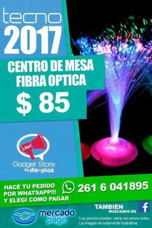 CENTRO DE MESA DE FIBRA OPTICA