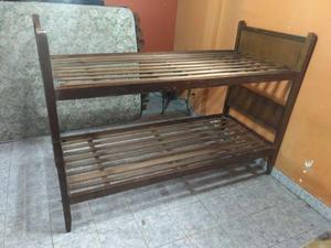 Cama Cucheta De madera dura! 1.90 X 0.80 tenemos Colchones!