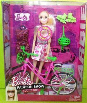 Muñeca Con Bicicleta Sonido Rollers Vestido En Villa Devoto