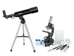 National Geographic Set Telescopio-microscopio Science Kids