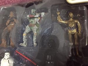 Set figuras STAR wars importadas de EEUU caja sellada Morón