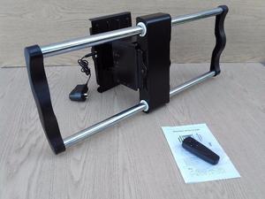 Soporte Tv Lcd Movil - Giratorio Motorizado A Control Remoto