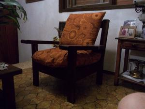 sillones de algarrobo