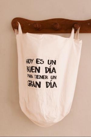 Bolsa de tela para la ropa