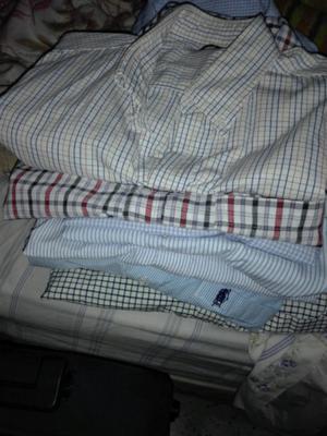 Camisas varias talle , M muy poco uso