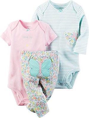 Carter's Baby Girls 3 Piezas Set