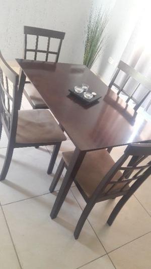 Juego de comedor con sillas4